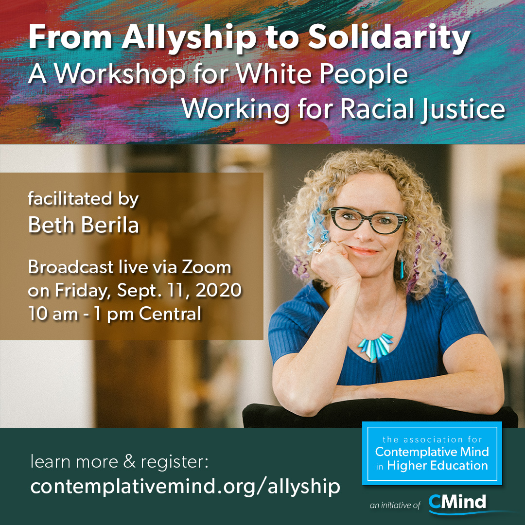 From Allyship to Solidarity: a workshop with Beth Berila