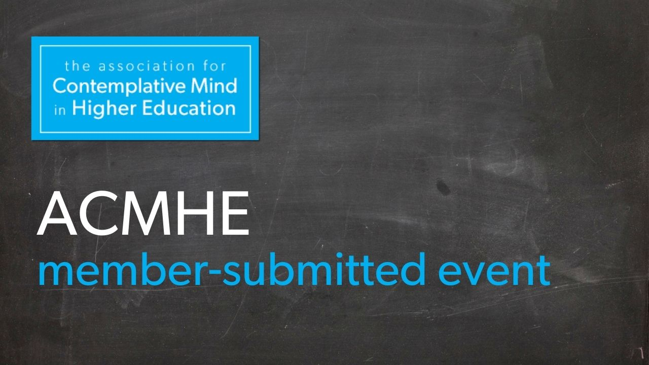 ACMHE member-submitted event