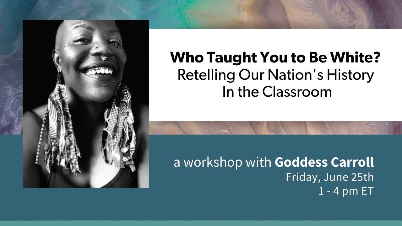 June workshop with Goddess Carroll