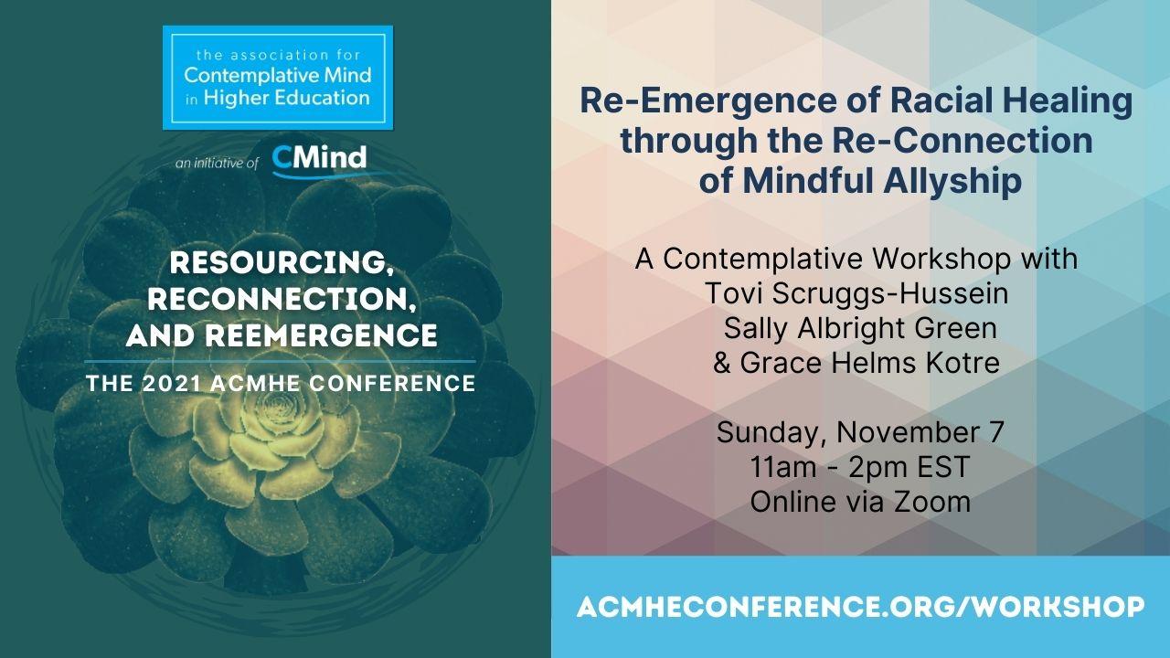 2021 ACMHE Conference Sunday Workshop